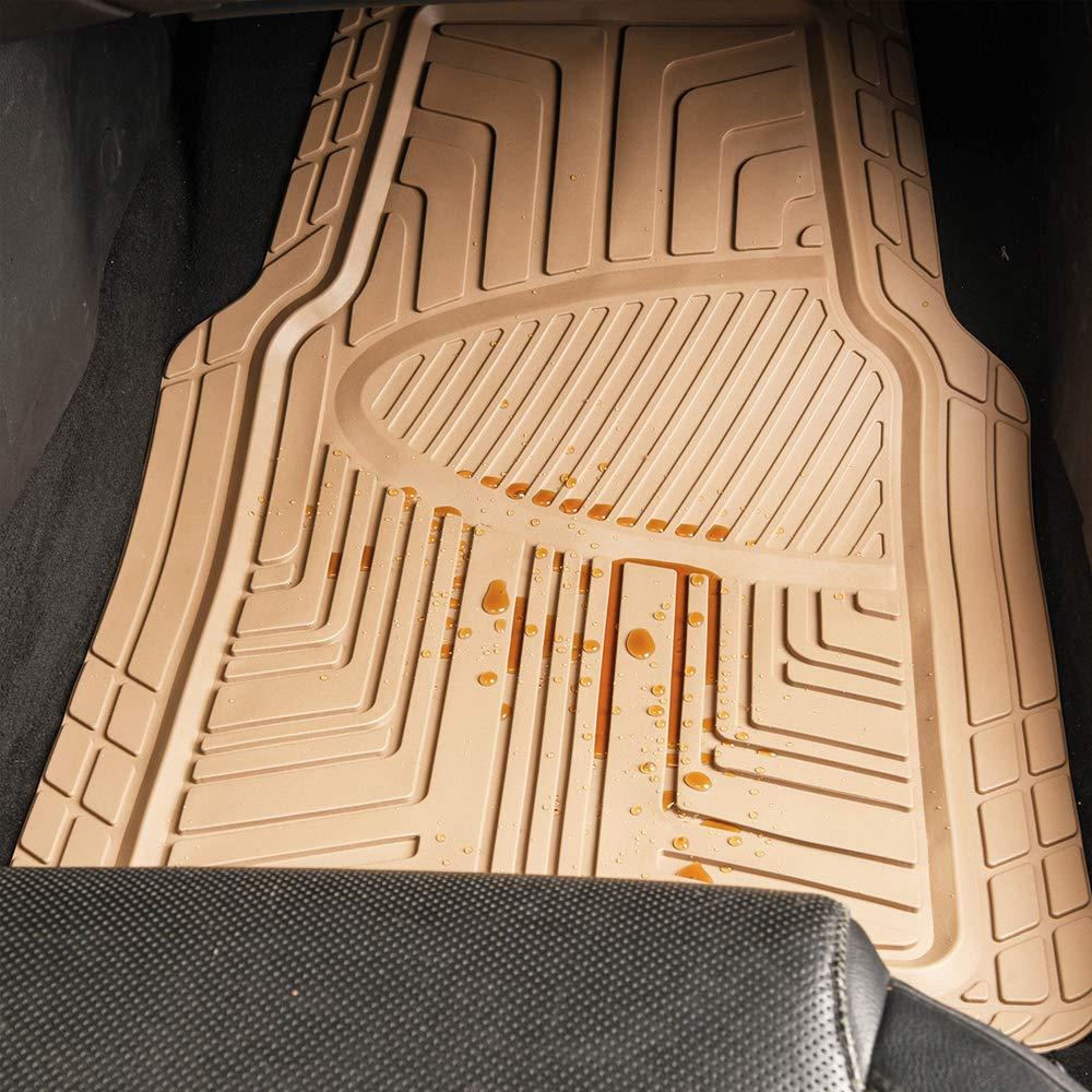 Sumex CARAT10 Carat Universal Rubber Car Mats Beige