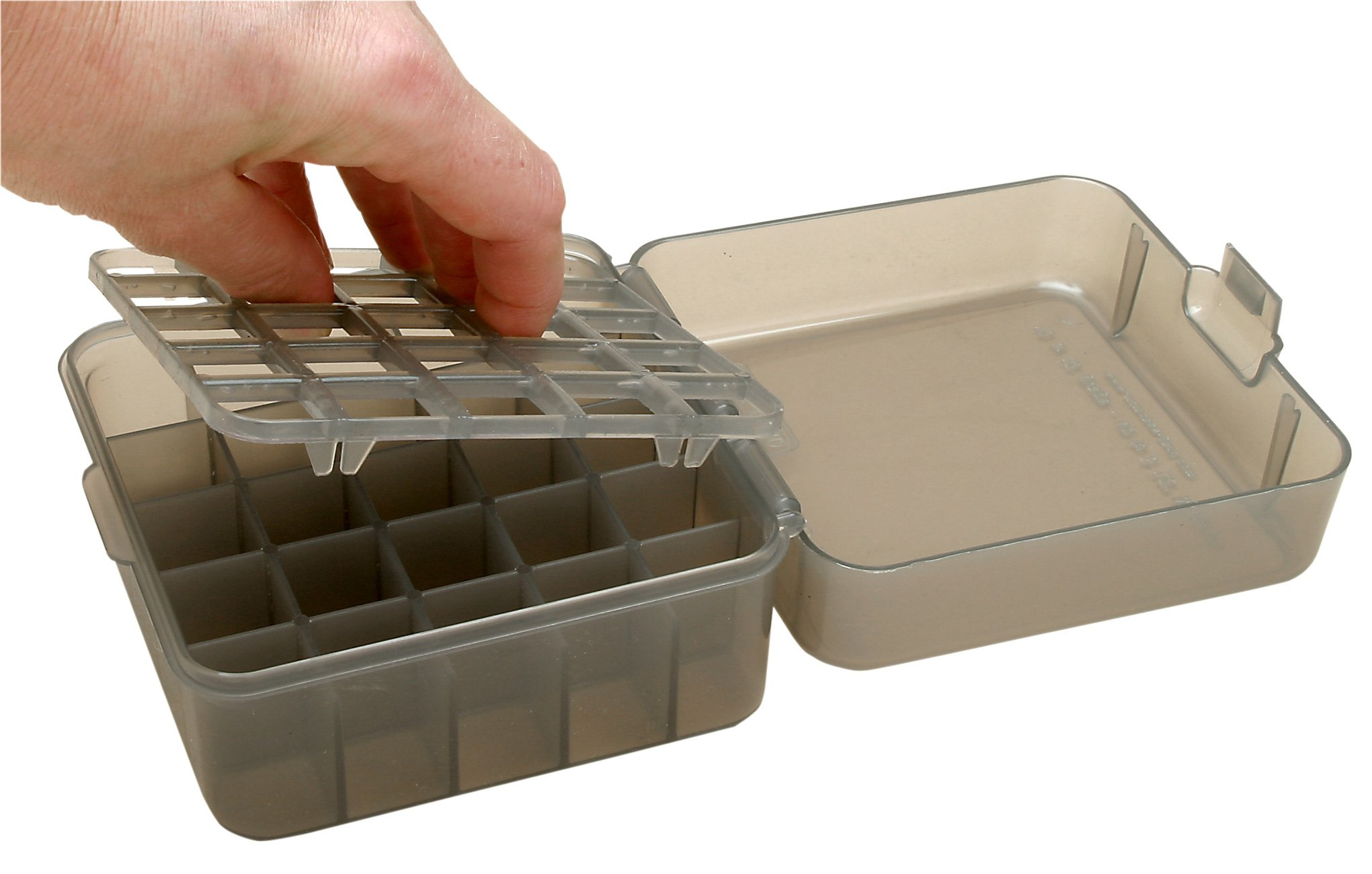 Plano Shot Shell Case Durable Flip-Lid Plastic Case for Convenient Ammo Storage for Specific Shells