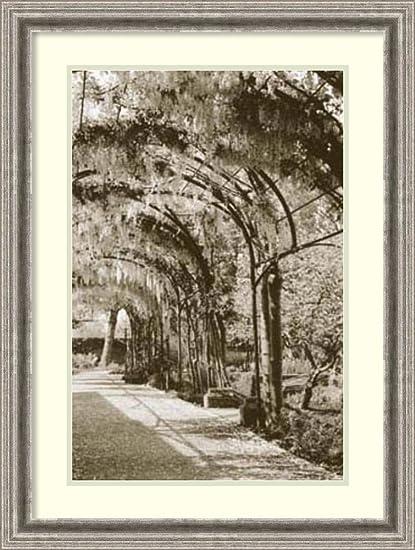 Framed Art Print U0027Queenu0027s Garden, Kew, ...