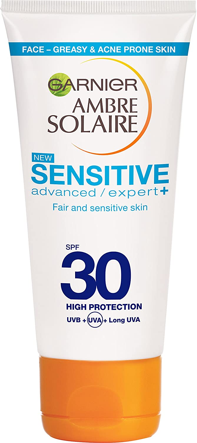 Ambre Solaire Sensitive Anti Imperfection Face Sun Cream SPF30 50ml L'Oreal 3600541992405