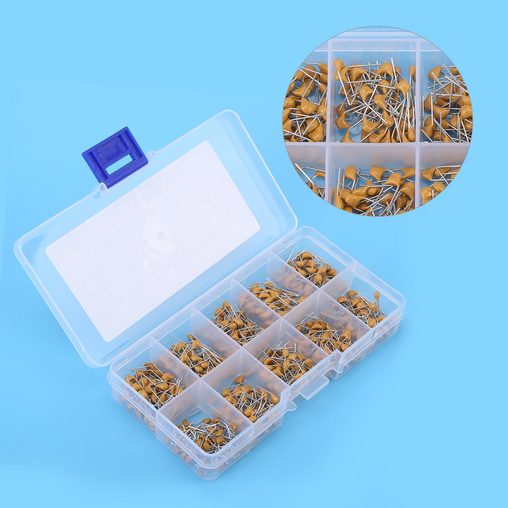4.7nF 10nF 3.3nF 22nF 68nF 1nF 500 Pieces 10 Values 50 V Multilayer Monolithic Ceramic Capacitor Assortment Kit 33nF 6.8nF Ceramic Capacitor Assortment 2.2nF 47nF