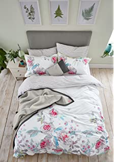 db60312b45995 Joules Bedding - Lulu Floral Kingsize Duvet Cover (Blue): Amazon.co ...