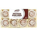 Wehle Sports Protein Pralinen 32 Eiweiß Pralinen - 320g Inhalt: 4x Blister je 8 Pralinen = 320g │ Alternative zu Protein Riegeln mit Vitafiber (Chocolate Dream)