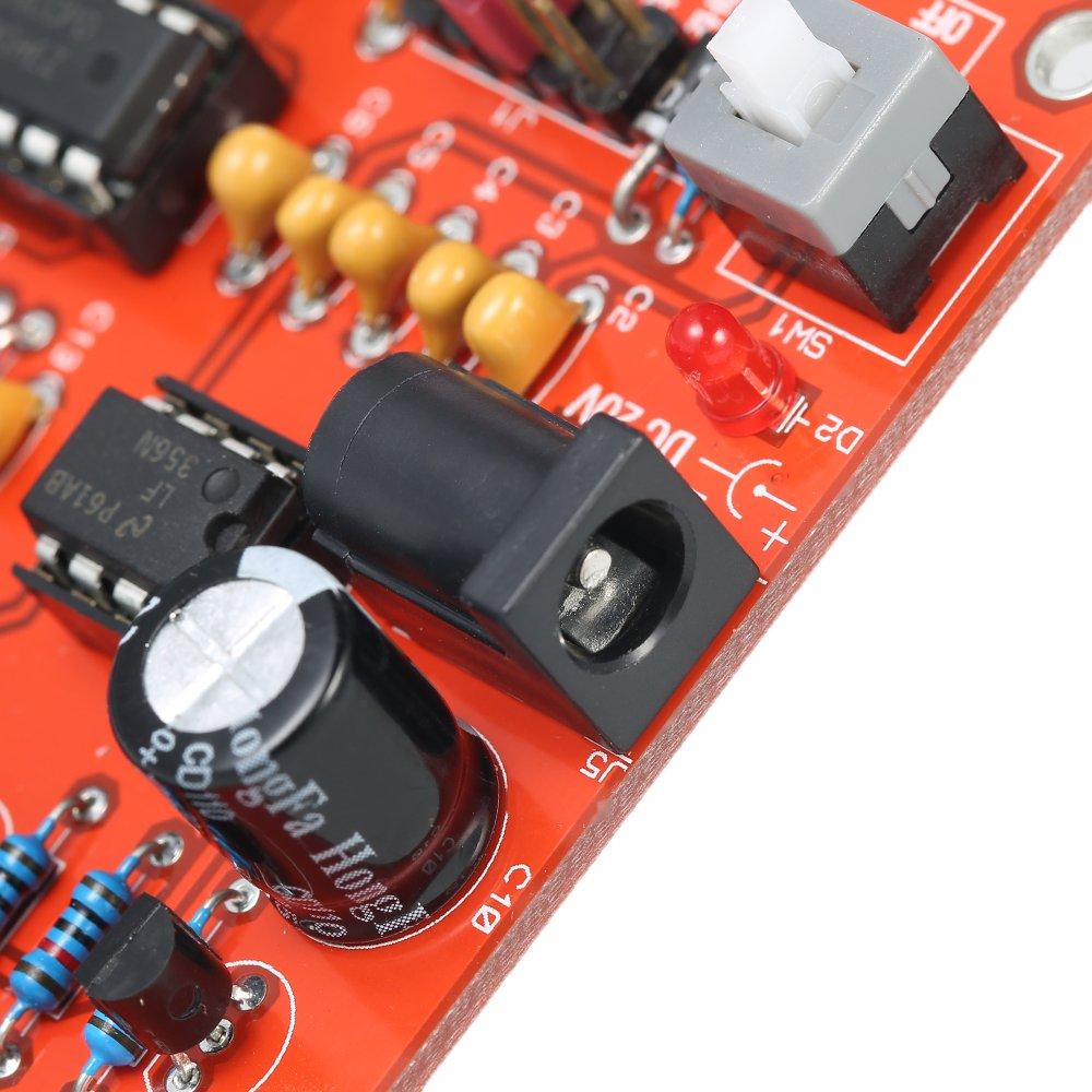 Generator Fg8038icl8038 Kkmoon Adjustable Signal High 8038 Function Circuit Automotivecircuit Diagram Precision Simulator Module Diy For Square Triangle Sine Wave Output 3hz 300khz
