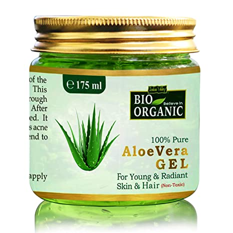organic aloe vera gel for face