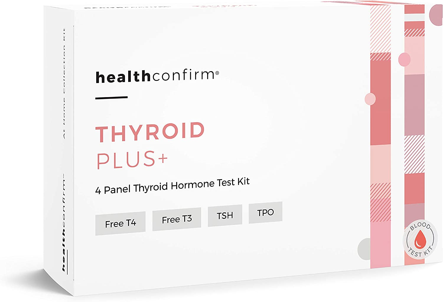 Amazon Com Healthconfirm Thyroid Plus At Home Test Kit 4