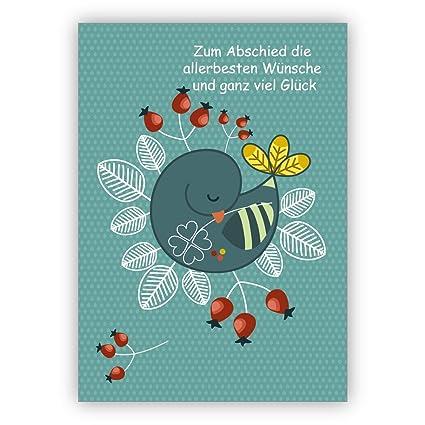 Bonito aschiedskarte para compañeros, empleados, Jubilado ...