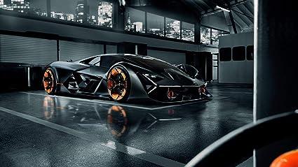 Amazon Com Lamborghini Terzo Millennio Car Poster Print 5 24x36