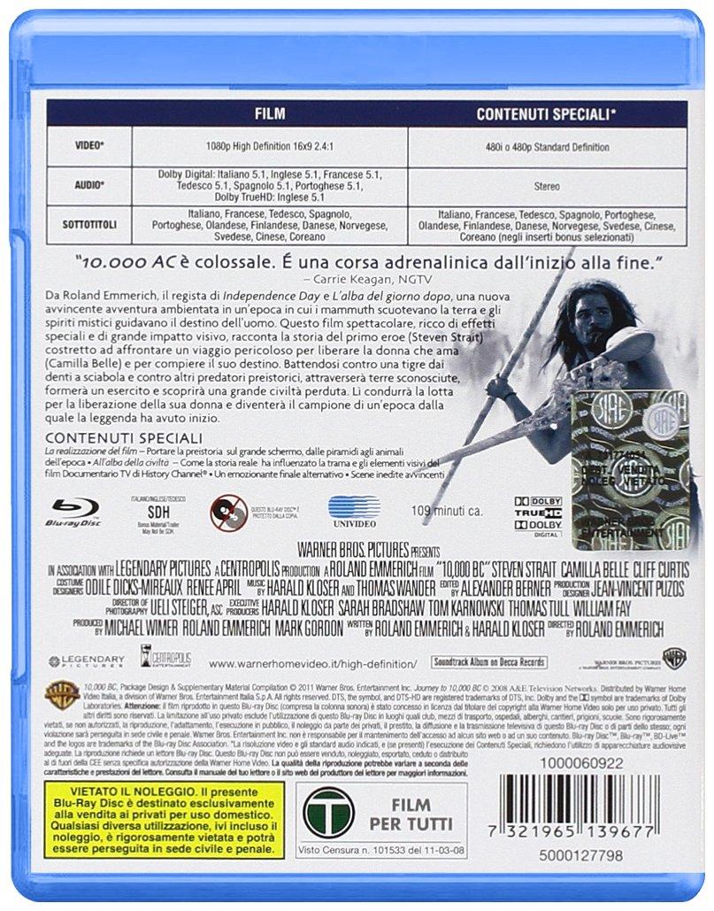 10000 Ac Blu Ray It Import Amazonde Camilla Belle Steven