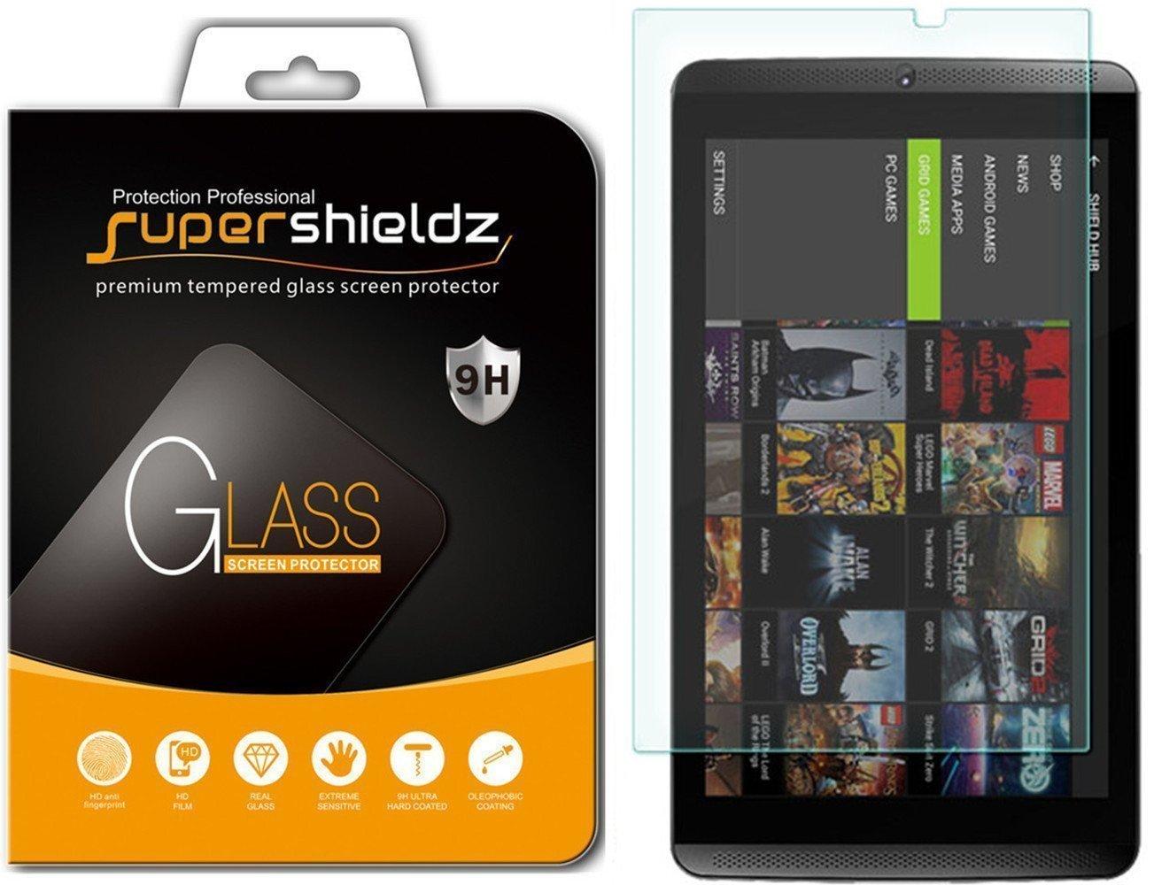 Vidrio Templado Para Nvidia Shield Tablet/tablet K1 [2un.]