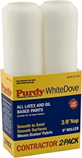 """product image for Purdy 140670072 7x3/8 7"""" X 3/8"""" Nap White Dove Roller Cover"""