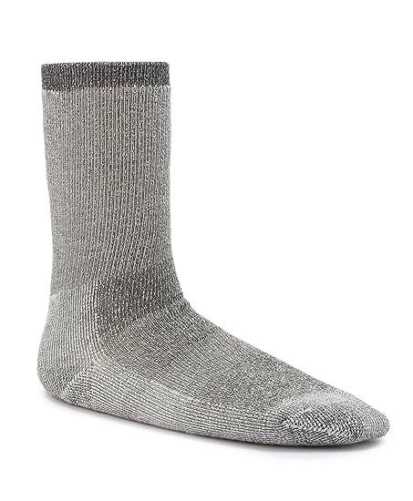 Timberland TM31498T Men's Premium Wool Marled Crew Socks, Color: Black, ...