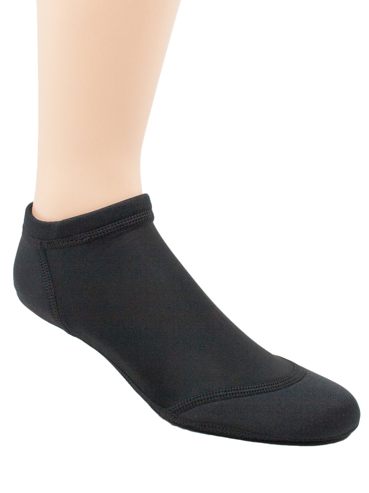 Sand Socks Vincere Sprite Low-Top XXS All Black (Small Logo)