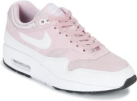 Zapatillas NIKE Air MAX 1 Barel Rosa/Blanco Mujer: Amazon.es: Zapatos y complementos