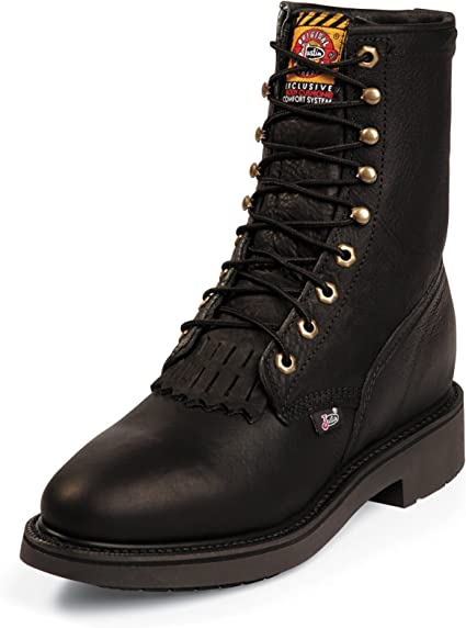 Work Boot Soft Toe Black 14 EE