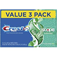 Crest + Scope Complete Whitening Toothpaste, Minty Fresh, 5.4 oz, Pack of 3. 1 Box
