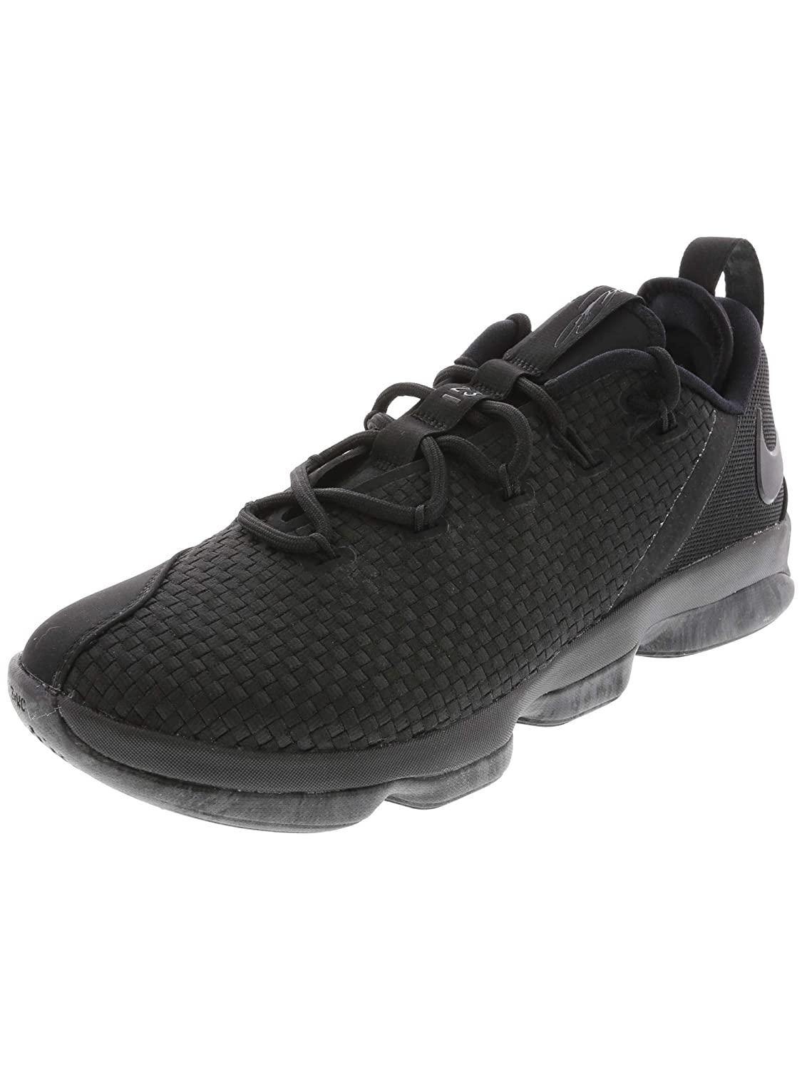 watch 22859 2ed8e Nike Lebron XIV Low, Black/Black-Dary Grey 10: Buy Online at ...