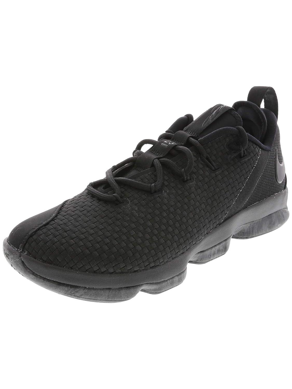 watch 3f5dd 02120 Nike Lebron XIV Low, Black/Black-Dary Grey 10: Buy Online at ...