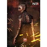 Mass Effect (14inch x 20inch / 35cm x 50cm) Silk Print Poster - Soie Affiche - 720E63
