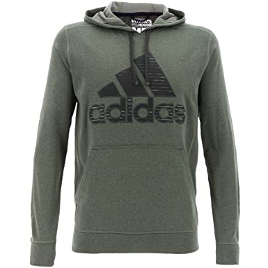 adidas Performance Herren Ultimate Pullover Hoodie, Grün  Amazon.de ... 3e376a9c77