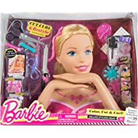Barbie Deluxe Styling Head For Girls Age 3 Years