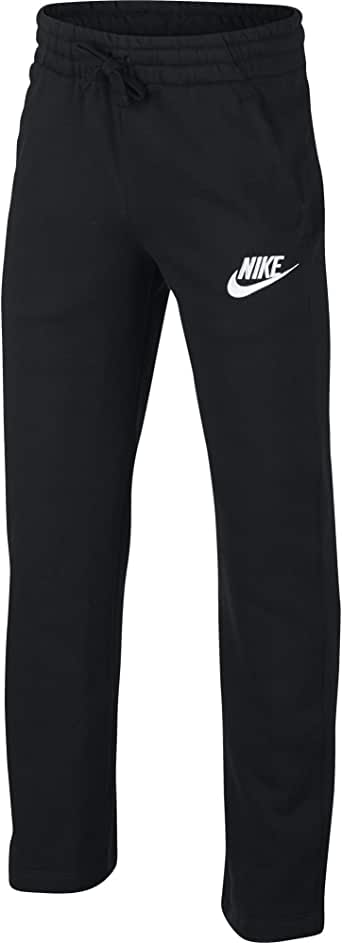 NIKE Sportswear Boys' Club Fleece Open Hem Pants