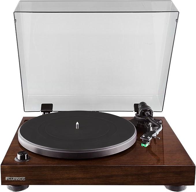 Amazon.com: Fluance RT81 Elite High Fidelity Vinyl Turntable ...