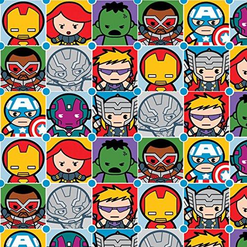Marvel Fabric Kawaii Tiles Fabric From Springs Creative