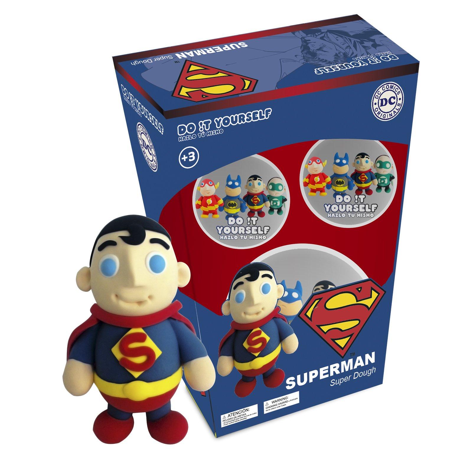 Superman Super Dough Do It Yourself Modeling Set by Superman