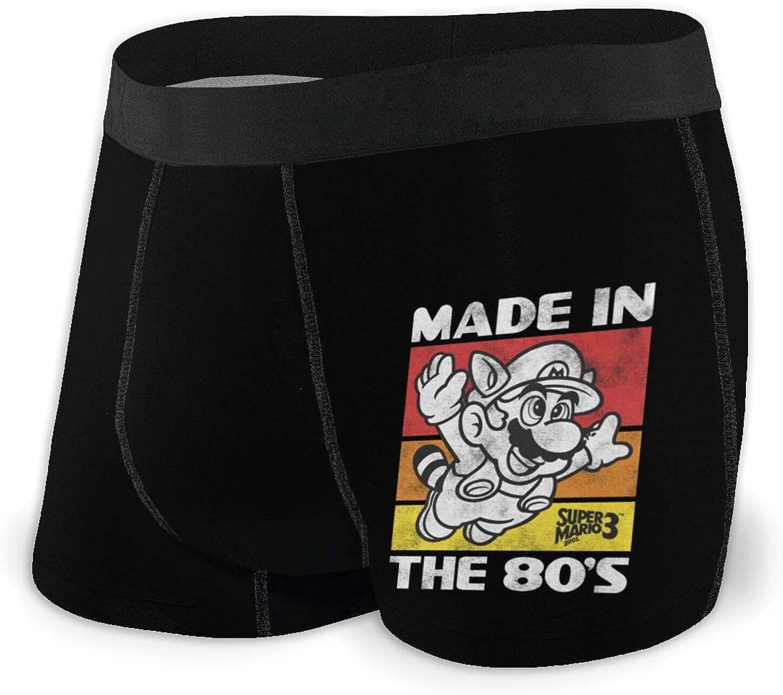 Mens Raccoon Mario Boxer Briefs Underwear
