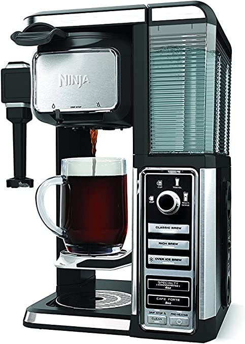 Ninja Coffee Bar Pod-Free Single-Serve System w/ Built in Frother.
