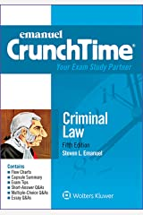 Emanuel CrunchTime for Criminal Law (Emanuel CrunchTime Series) Kindle Edition