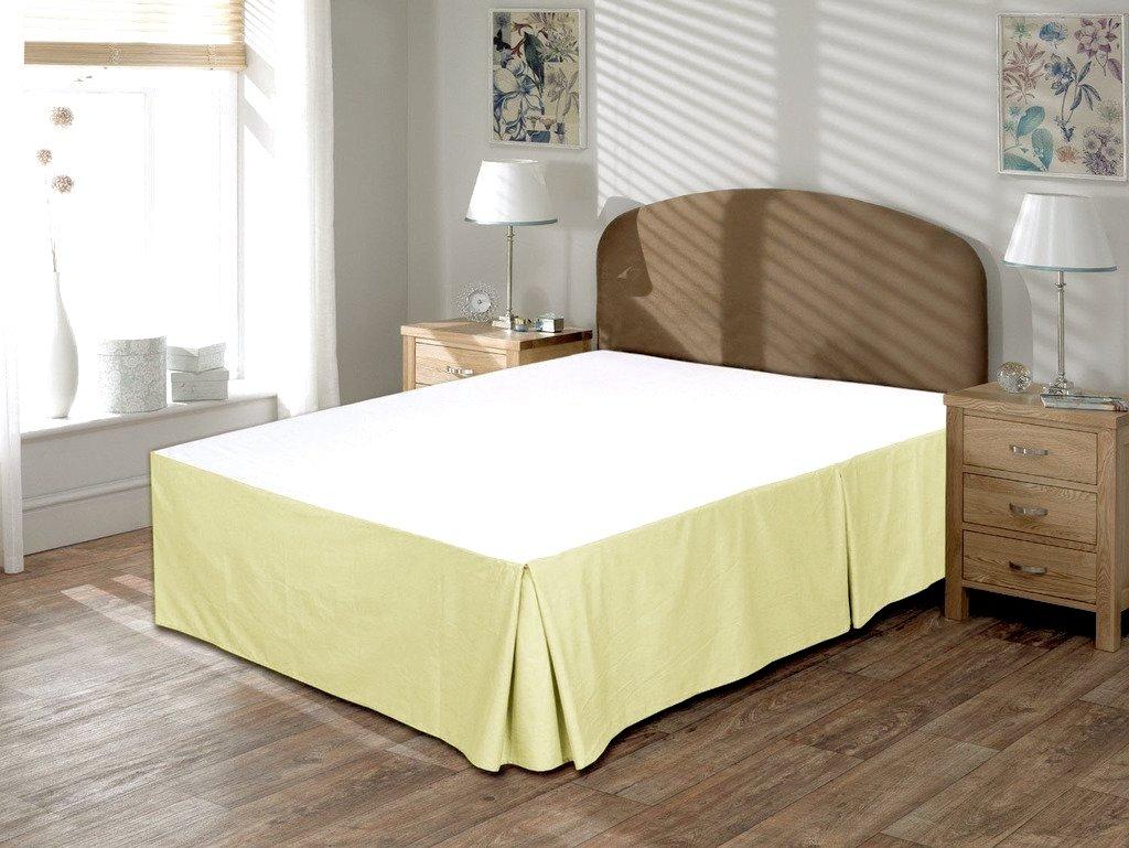 500スレッドカウントに1pc bed-skirt 13