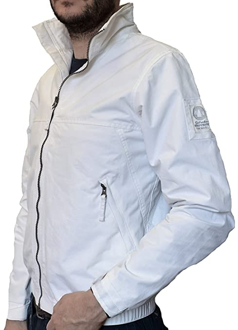 the best attitude ccc54 c84bc MURPHY AND NYE Giacca Giubbotto Uomo Bianco New Sail Jacket ...