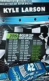 NASCAR Authentics 2019 Daytona 500 Speciel Wave Kyle Larson Credit One 1/64 Scale Diecast with Bonus 2019 Cup Schedule