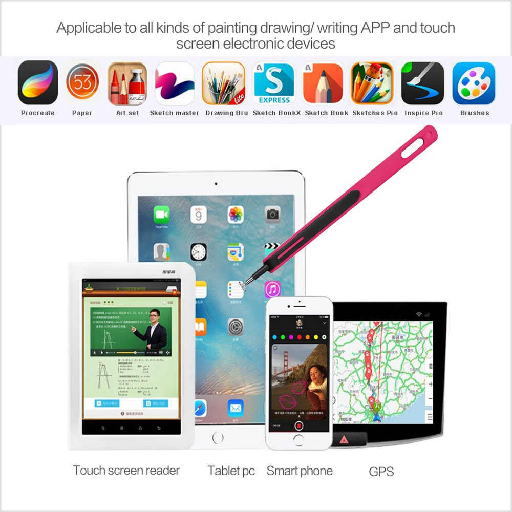 CADA drawing stylus for capactivie screen iPad iphone Android  kindle windows tablets stylus drawing