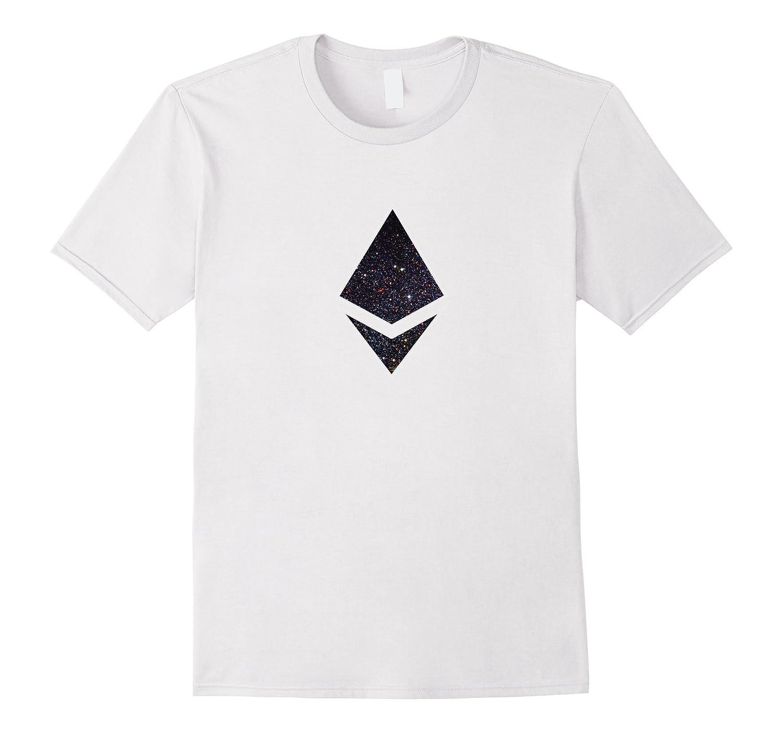 Ethereum Deep space original logo Style t-shirt