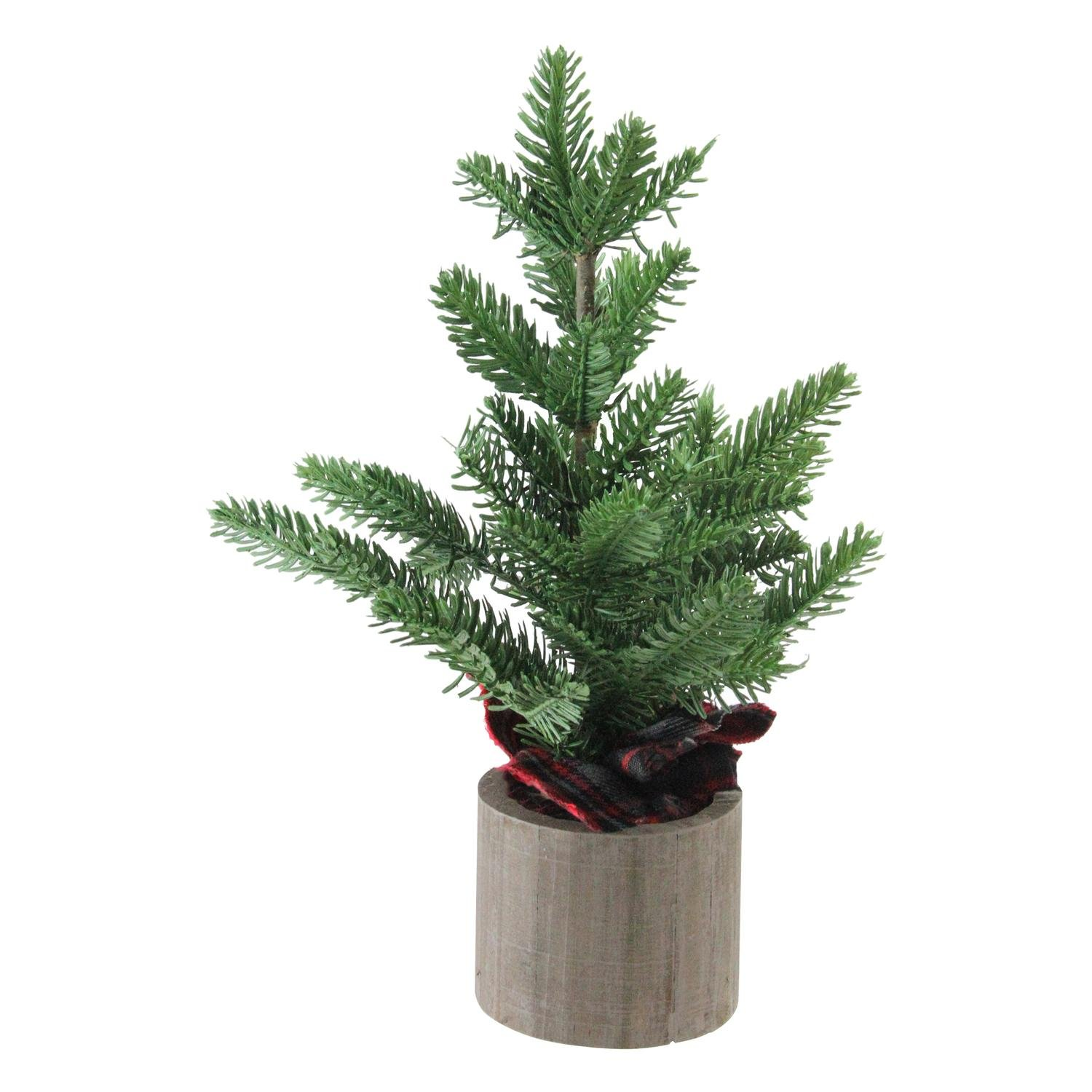 Artificial Potted Table Top Christmas Tree