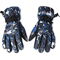EGOGO Waterproof Windproof Warm Winter Insulated Lined Snow Gloves Skiing Snowboarding Gloves with Buckle for Men, Women…