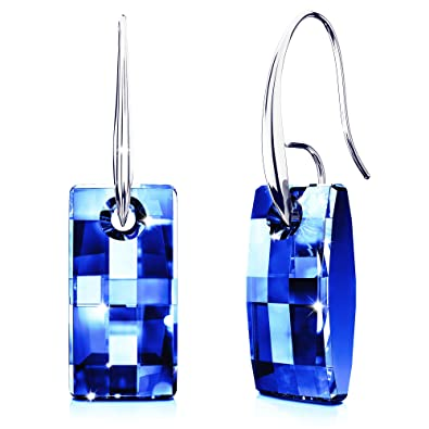 Hypoallergenic Earrings with Swarovski Crystals for Women | Colorful Dangle  Drop Jewelry