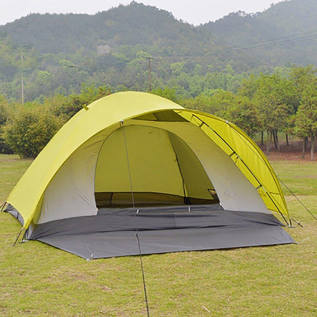 HAIPENG Zelte 3-4 Personen im Freien Freizeit Bergcampingausrüstung Zelte HAIPENG Doppelregendicht Winddicht Jahreszeiten Zelte (L  B  H)  200  240  130cm 890f38