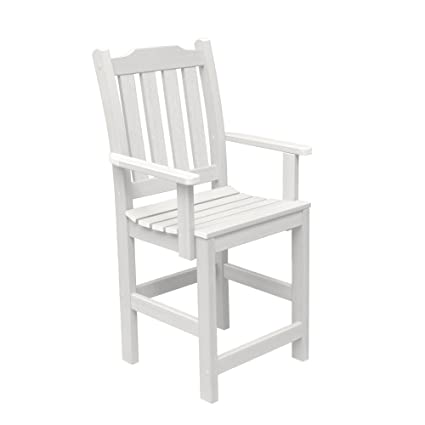 Highwood Lehigh Counter Height Armchair, White