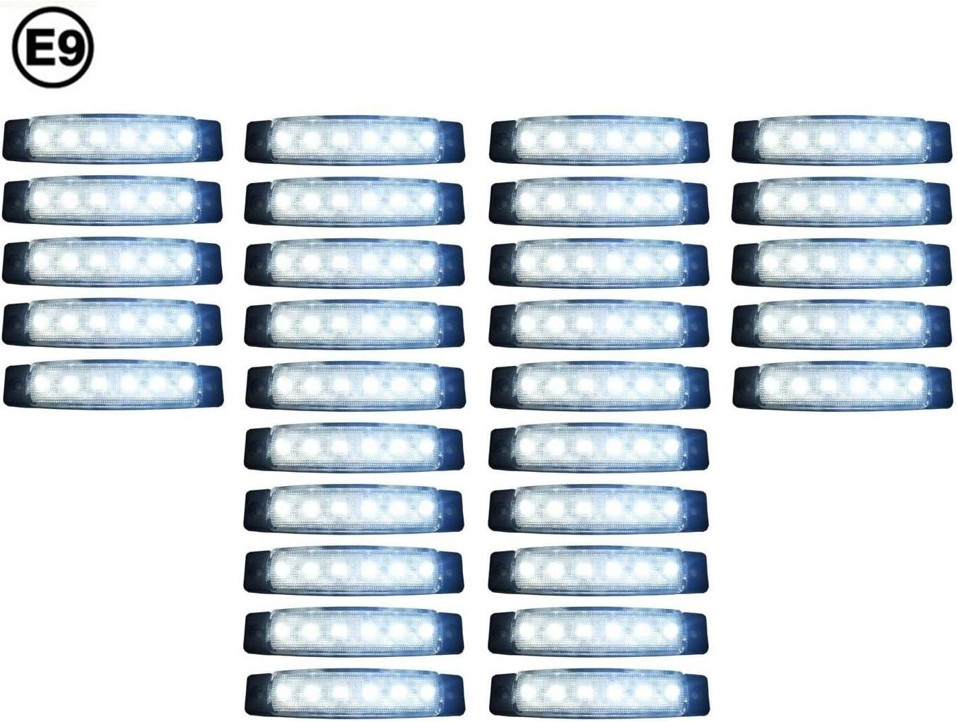 30 X Led 24v Begrenzungsleuchte Positionsleuchte Seitenmarkierungsleuchte Lkw Auto