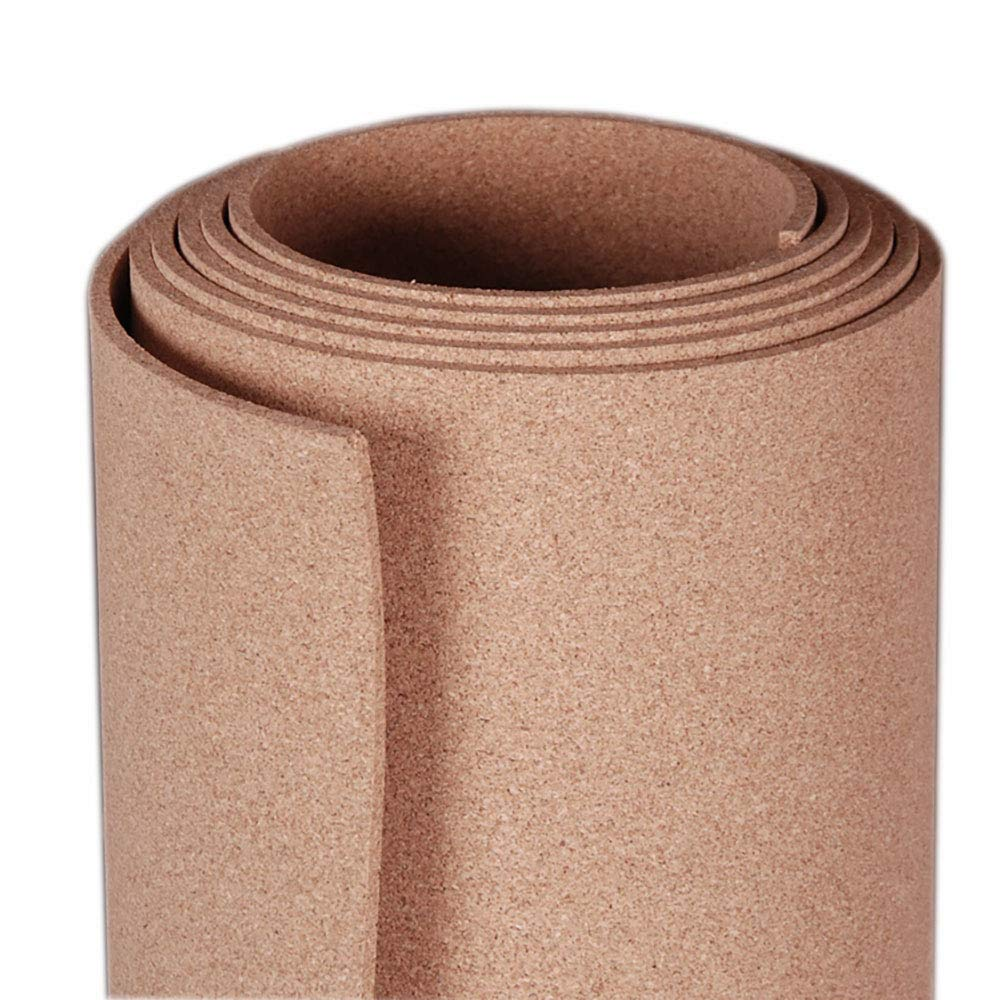 100/% Natural 4 x 8 x 1//2 Manton Cork Roll