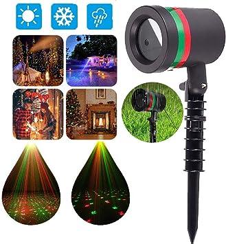 Amazon.com: Luz láser para exteriores Gypsophila – Proyector ...
