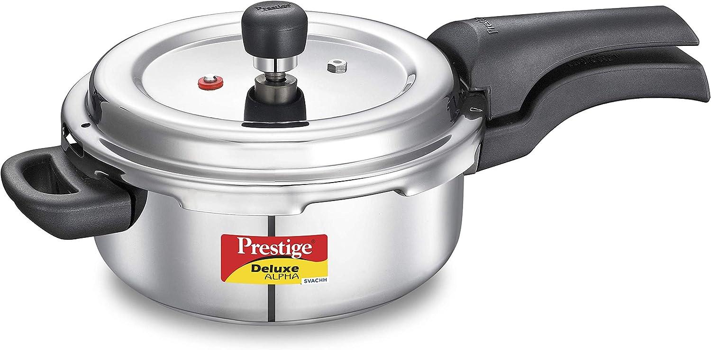 Prestige PRASV3 PRESSURE COOKER, 3 Liter, Silver