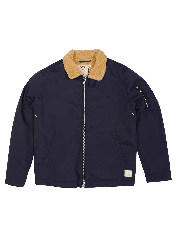 Wemoto Larvik Jacket Navy Blue