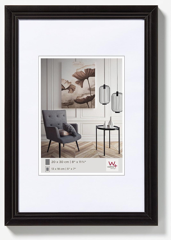 Walther Design HY015C Living Cornice, Legno, Cappuccino, 10 x 15 cm