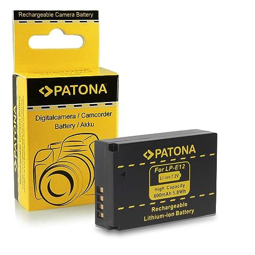 192 opinioni per Batteria LP-E12 per Canon EOS 100D | EOS