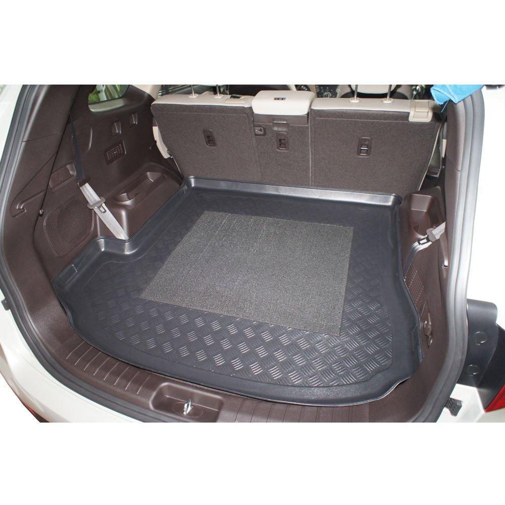 cod MDM Kofferraumwanne Grand Santa Fe III 7 Sitzer ab 11.2012- Kofferraummatten Passgenaue mit Antirutsch 4865 Passend f/ür 7 Sitzer; 3 Reihe umgelegt
